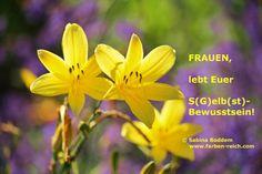 Gelbe Grüße http://www.farben-reich.com/