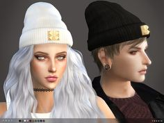 Foxy Beanie by toksik at TSR • Sims 4 Updates
