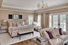 Traditional Bedroom Chairs are often blessed with large spaces that other rooms in the home are not. Even small bedroom spaces allow for additional seating. Master Bedroom Design, Dream Bedroom, Home Bedroom, Bedroom Decor, Bedroom Ideas, Bedroom Furniture, Master Bedrooms, Bedroom Country, Master Bathroom