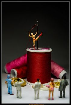 Hanging by the scarlet thread: And they came to watch...