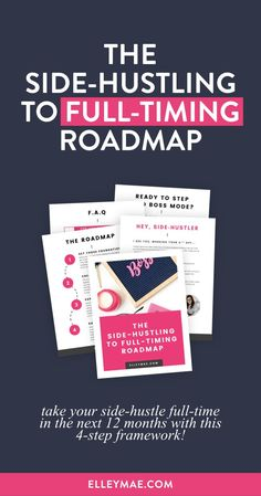 Are you ready to take your side-hustle full-time? Do you want to quit your 9-5 and work from home? Girl, I hear you! Download The Side-Hustling to Full-Timing Roadmap now to skyrocket your success and *finally* quit your day job to pursue your passion! I Business Tips, Online Business, Core Curriculum, Making Extra Cash, I Quit, Be Your Own Boss, Work From Home Jobs, So Little Time, Helping Others