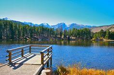 Spague Lake Nature Loop at Rocky Mountain National Park