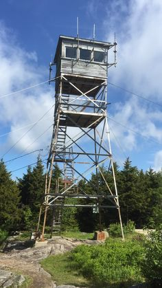 Lookout towers engineered plans for 1 story lookout for Fire tower plans