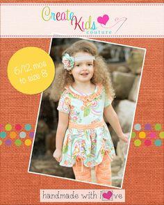 Maybi's Knit Dress and Tunic PDF Pattern