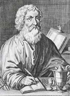 This a picture of Hippocrates (the Father of Medicine) -who also lived and thrived during the Classical Period (490-323 BCE). According to the book he was among the most influential people to live during this time period.