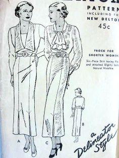1930 Day dresses