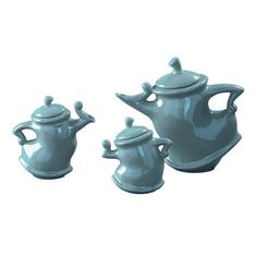 I pinned this Howard Elliott 3 Piece Dancing Teapot Set from the Fanciful Fare event at Joss and Main!
