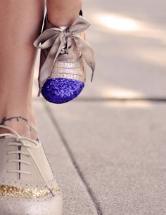 11 Fancy Ways To Reinvent Your Shoes. I love this!