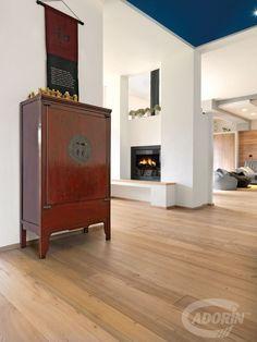 Wooden floors - Olmo de Casera brushed varnished raw effect. #cadorin parquet @cadoringroup