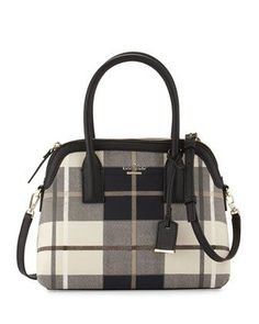 cameron street plaid maisie satchel bag by kate spade new york at Neiman Marcus.