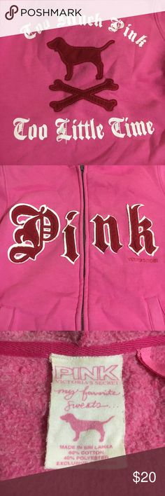 Vintage VS PINK hoodie Excellent condition! Open to offers. This hoodie is rare. Fur on inside is very thick and comfy. PINK Victoria's Secret Sweaters