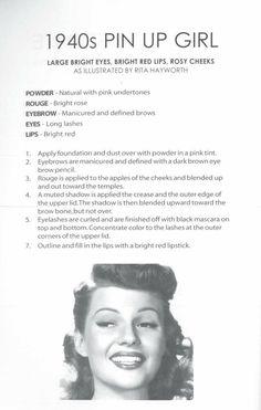 1940's Make-up
