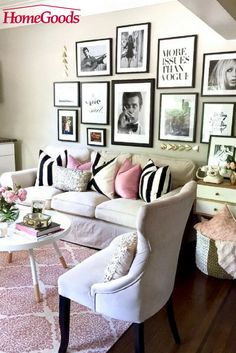Small space living allows you to get creative with furniture, storage, decorative pieces & more!  We love these tips & tricks from HomeGoods blogger Lizbeth Carrillo (of Home and Fabulous) as she refreshed her daughter's apartment. Read more on our blog!