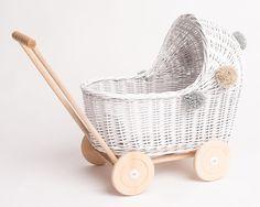 Strollers For Dolls, Wooden Wheel, Purple Bedding, Pretty Kids, Dolls Prams, Wooden Stars, Birthday Gifts For Girls, Wooden Dolls, Baskets On Wall