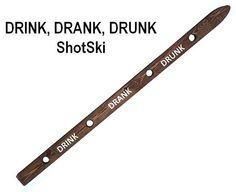 Shot Ski, shotski party ski shots...Drink, Drank, Drunk! SHOTSKISHOP.COM