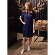 Fred Perry Girls 2194 Fred Perry, Portugal, Women Wear, Dresses With Sleeves, Long Sleeve, Girls, Collection, Fashion, Toddler Girls