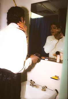 """""""I wanted to change the world. So I got up one morning and looked in the mirror."""" –Michael Jackson"""