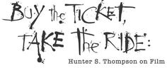 buy the ticket take the ride - Google Search