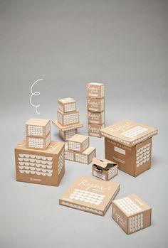 ●Fine Little Day ceramic packaging● Kraft Packaging, Paper Packaging, Coffee Packaging, Pretty Packaging, Retail Packaging, Ecommerce Packaging, Cheese Packaging, Packaging Ideas, Packaging Design Inspiration