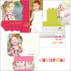 Melissa Davis Designs cute holiday cards