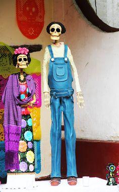 De otros mundos: Fiesta de muertos en Cuernavaca / Fotos de Triunfo Arciniegas
