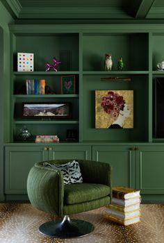 11 Best Green Paint Colors for Cabinetry, According to Experts