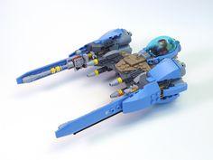 DB-15 Aethershrike #LEGO #space #starfighter