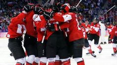 Canada captured a historic fourth Olympic gold medal in women's hockey Thursday with a overtime win over the United States in a thrilling championship final. Women's Hockey, Olympic Gold Medals, Take The Stairs, Sports Art, Yoga Challenge, Cool, My Children, Olympics