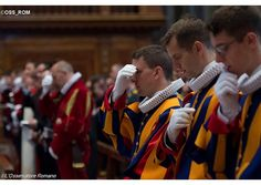 (RV) Swiss Guard attend Mass to mark anniversary of Sack of Rome