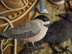 chickadee - the embroidery on the birds is fabulous . . . from wee folk studio