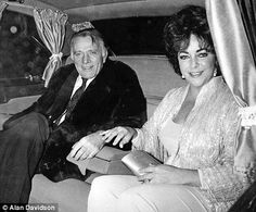 Never over: Richard and Elizabeth at her 50th birthday celebration in 1982. Though divorced for many years the love and passion between them never died. The day Burton died he wrote a letter to Elizabeth expressing his undying love. She kept it on her nightstand until the day she died, and then it was buried with her.