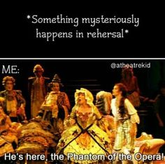 I blame the ghosts on what happened at my last recital...