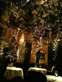 This is sort of how I see Sage Place where Mel and Caine hold their rehearsal dinner in WE OWN THE NIGHT