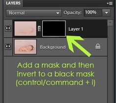 How to Blend Backgrounds in Photoshop Elements {and Photoshop}