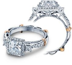 Parisian-122P engagement ring by Verragio