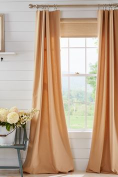 Insulated curtains are a great way to cut down on the drafts as the cold weather approaches.  Great Country Curtains styles help keep you and your family warm, while still complimenting your living spaces.