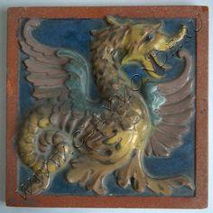 Клэймонд - керамический дизайн. Реставрация фасадной и интерьерной керамики, печных изразцов, плитки. Примеры и фото!