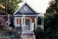 A Little House  Charleston, S.C.-based designer Michelle Pollak lends her gracious talents to La Petite Maison playhouses that are just as charming as they sound. The custom-built cottages, which can include little luxuries like air conditioning, indoor lighting, working kitchens, media rooms and pretty architectural details, start at $9,000, through lapetitemaison.com.