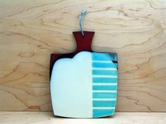 Tapas Board by Kalika Bowlby Pottery Plates, Slab Pottery, Ceramic Pottery, Ceramics Projects, Ceramics Ideas, Ceramic Techniques, Handmade Market, Ceramic Tableware, Ceramic Design