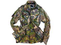 Denham M65 Re-Cut Duty Camo Jacket...Look at how gross and oily it looks. I love it.