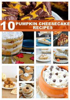 10 Pumpkin Cheesecak