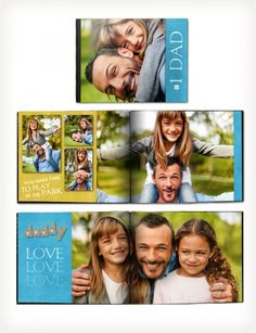 father's day gift ideas from Picaboo - photo books starting at $9.99