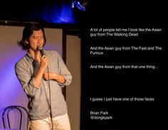 #BrianPark, #comedian , #comedy , #funny , #StandUp , #Jokes , #fun , #comic , #lol , #joke