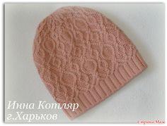 "Шапочка ""Этюд"""