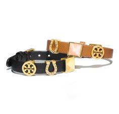 Tory Burch Customizable Lucia Initial Charm Bracelets