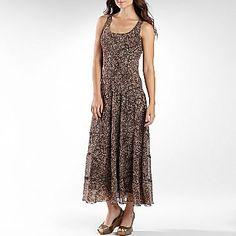 Jones Wear® Chiffon Multi-Tier Dress - jcpenney
