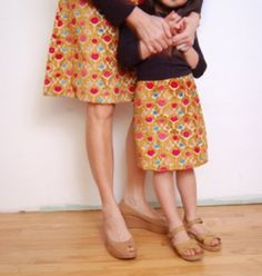 """Come on our one day """"Make an A-line """" at The Gilliangladrag Fluff-a-torium How To Make Skirt, Another A, Sewing Courses, Mommy And Me Outfits, Vintage Couture, A Line Skirts, My Outfit, Vintage Dresses, Pattern Design"""