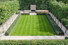 Fire Tables and Planters Salt Lake City, Draper UT & Backyard Bar, Backyard Garden Design, Patio Design, Modern Landscaping, Outdoor Landscaping, Outdoor Gardens, House Landscape, Landscape Design, Modern Garden Design