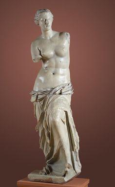 Aphrodite of Melos (Venus de Milo); plaster cast after marble original