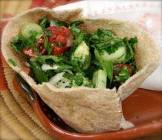 Veggies In Pita * Use Wrap * (Salad Sandwich)